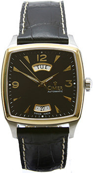 Швейцарские наручные  мужские часы Cimier 5102-SY021E. Коллекция 1951