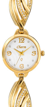 Российские наручные  женские часы Charm 51166145. Коллекция Кварцевые женские часы