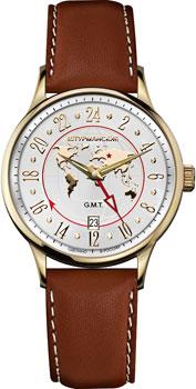 Российские наручные  мужские часы Sturmanskie 51524-3306805. Коллекция Спутник