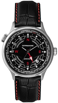 Российские наручные  мужские часы Sturmanskie 51524-3331817. Коллекция Арктика
