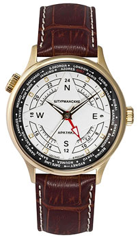 Российские наручные  мужские часы Sturmanskie 51524-3336819. Коллекция Арктика