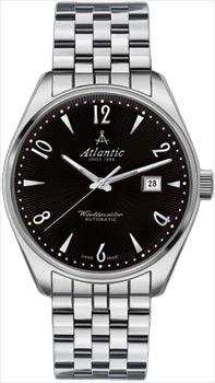Швейцарские наручные  мужские часы Atlantic 51752.41.65SM. Коллекция Worldmaster
