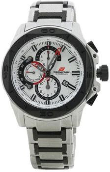 fashion наручные  мужские часы Chronoforce 5185-B. Коллекция Chronograph