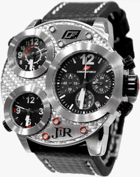 fashion наручные  мужские часы Chronoforce 5211-A. Коллекция Dual Time
