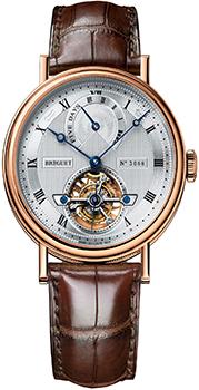 Швейцарские наручные  мужские часы Breguet 5317BR-12-9V6