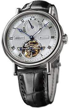 Швейцарские наручные  мужские часы Breguet 5317PT-12-9V6