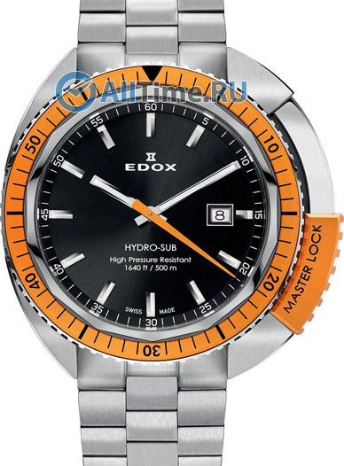 Мужские наручные швейцарские часы в коллекции Hydro-Sub Edox