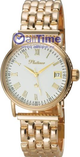 Мужские наручные золотые часы в коллекции Round Platinor