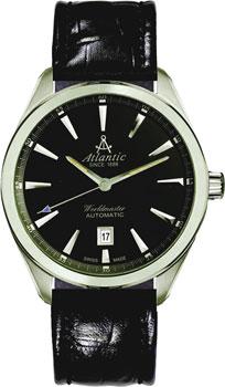 Швейцарские наручные  мужские часы Atlantic 53750.41.61. Коллекция Worldmaster