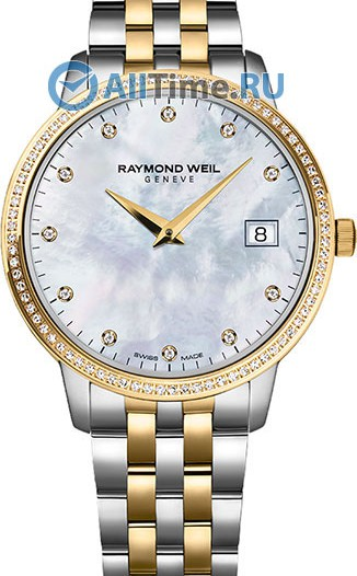 Женские наручные швейцарские часы в коллекции Toccata Raymond Weil