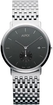 fashion наручные  мужские часы Alfex 5468-002. Коллекция Flat line