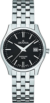 Швейцарские наручные  женские часы Grovana 5568.1137. Коллекция Traditional