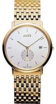 fashion наручные  мужские часы Alfex 5588-021. Коллекция Flat line