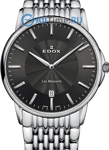 Мужские наручные швейцарские часы в коллекции Les Bemonts Edox