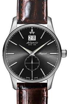 Швейцарские наручные  мужские часы Atlantic 56350.41.41. Коллекция Seaport