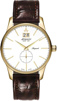 Швейцарские наручные  мужские часы Atlantic 56350.45.21. Коллекция Seaport