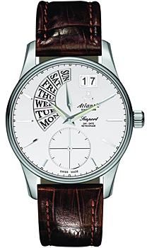 Швейцарские наручные  мужские часы Atlantic 56351.41.21. Коллекция Seaport