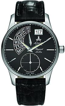 Швейцарские наручные  мужские часы Atlantic 56351.41.61. Коллекция Seaport