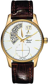 Швейцарские наручные  мужские часы Atlantic 56351.45.21. Коллекция Seaport