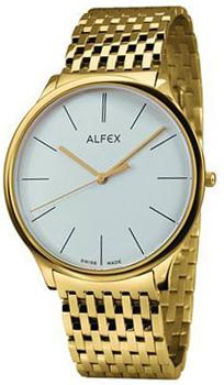 fashion наручные  мужские часы Alfex 5638-021. Коллекция Flat line