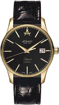 Швейцарские наручные  мужские часы Atlantic 56751.45.61. Коллекция Seaport