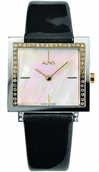 fashion наручные  женские часы Alfex 5684-823. Коллекция New Structures