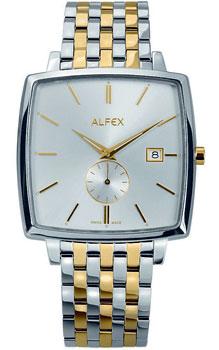 fashion наручные  мужские часы Alfex 5704-041. Коллекция Flat line