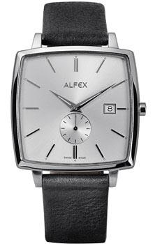 fashion наручные  мужские часы Alfex 5704-306. Коллекция Flat line