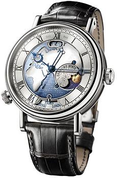 Швейцарские наручные  мужские часы Breguet 5717PT-EU-9ZU