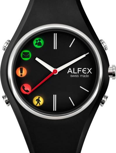 Мужские наручные швейцарские часы в коллекции Connect Alfex