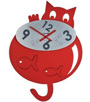Настенные часы  Lowell 5826. Коллекция Metal