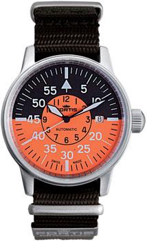 Швейцарские наручные  мужские часы Fortis 595.11.13N. Коллекция Aviatis