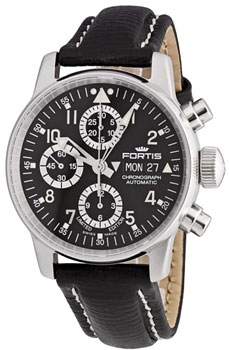 Швейцарские наручные  мужские часы Fortis 597.20.71L.01. Коллекция B 42 Flieger