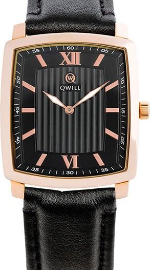 Мужские наручные золотые часы в коллекции Classic Qwill