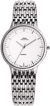 Швейцарские наручные  мужские часы Swiss Collection 6035ST-2M. Коллекция Today