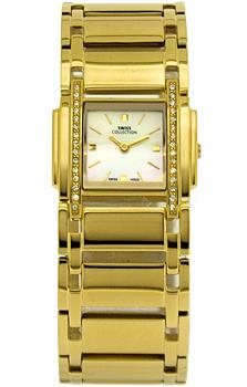 Швейцарские наручные  женские часы Swiss Collection 6037PL-2M. Коллекция Lady