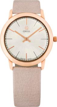 Российские наручные  женские часы Qwill 6050.01.01.1.25A. Коллекция Classic