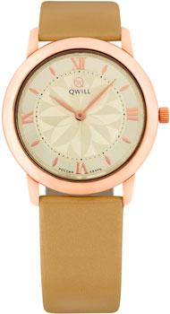 Российские наручные  женские часы Qwill 6050.01.01.1.41C. Коллекция Classic