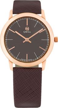 Российские наручные  женские часы Qwill 6050.01.01.1.65A. Коллекция Classic