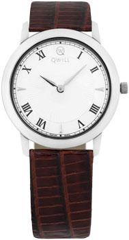 Российские наручные  женские часы Qwill 6050.01.04.9.11A. Коллекция Classic
