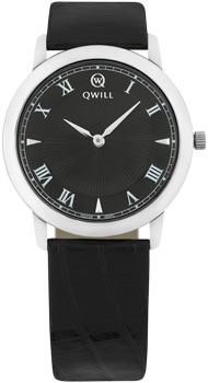 Российские наручные  женские часы Qwill 6050.01.04.9.51A. Коллекция Classic