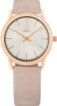 Российские наручные  женские часы Qwill 6050.05.11.1.25A. Коллекция Classic