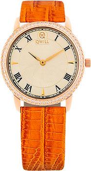 Российские наручные  женские часы Qwill 6050.05.11.1.41C. Коллекция Classic