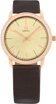 Российские наручные  женские часы Qwill 6050.05.11.1.45A. Коллекция Classic