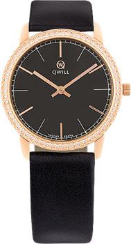 Российские наручные  женские часы Qwill 6050.05.11.1.55A. Коллекция Classic