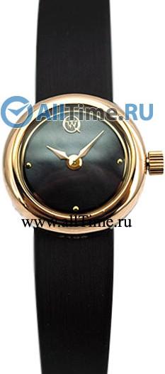Женские наручные золотые часы в коллекции Биметалл Qwill
