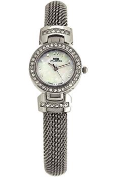 Швейцарские наручные  женские часы Swiss Collection 6079ST-2M. Коллекция Mesh