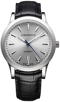 Швейцарские наручные  мужские часы Aerowatch 60947-AA01. Коллекция Les Grandes Classiques