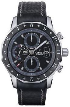 Швейцарские наручные  мужские часы Cimier 6101-SS021E. Коллекция 1961