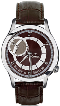 Швейцарские наручные  мужские часы Cimier 6102-SS041. Коллекция 1961
